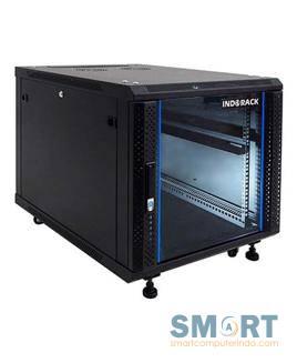 Standing Close Rack 10U Glass Door IR8010G