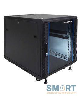 Standing Close Rack 12U Glass Door IR8012G